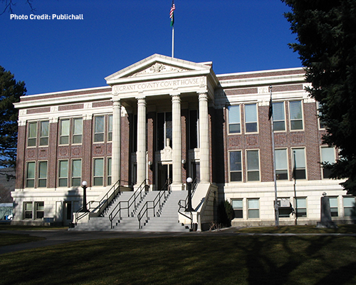 Photo of the Grant County Courthouse