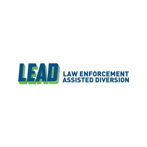 Logo for LEAD, a law enforcement assisted diversion program