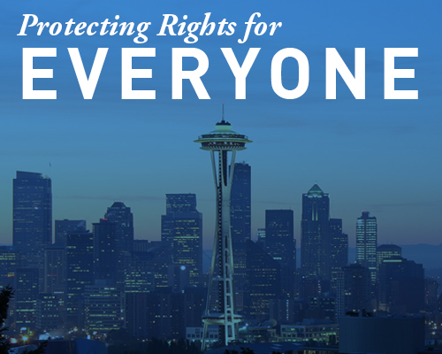 Protecting rights for everyone