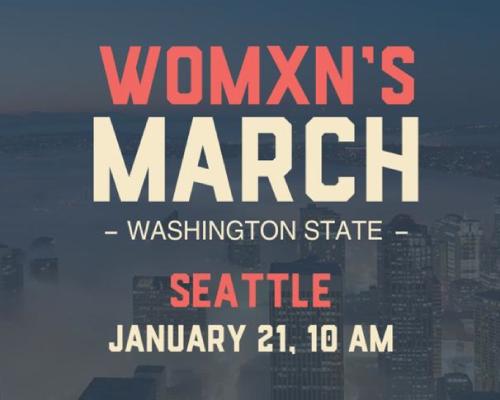 Womxn's March Washington State