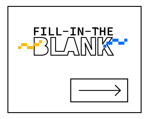 A clickable image of a fill in the blank chart