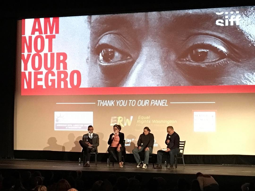 I Am Not Your Negro Panel at SIFF