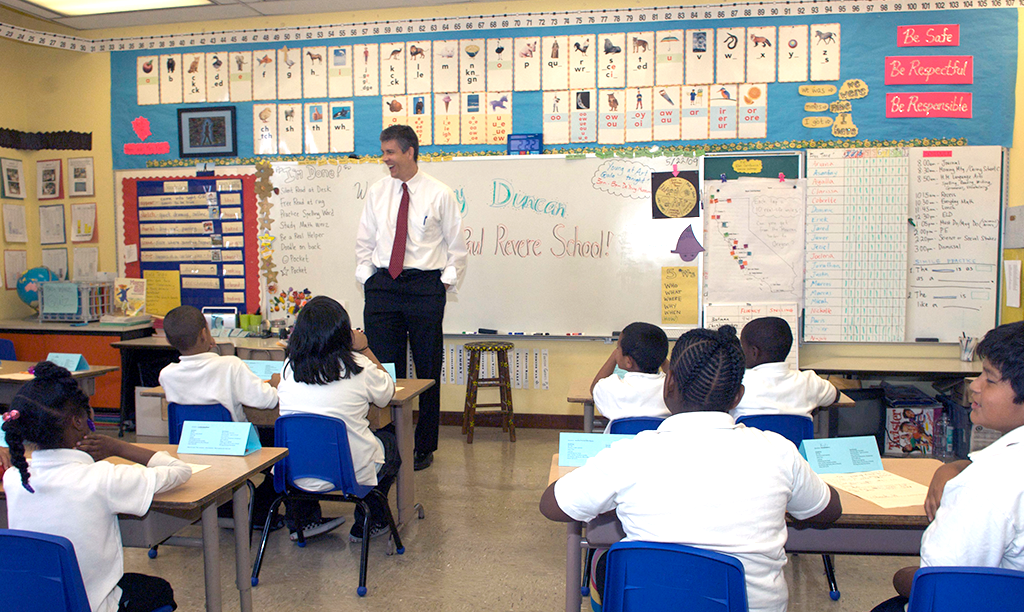 Photo of classroom