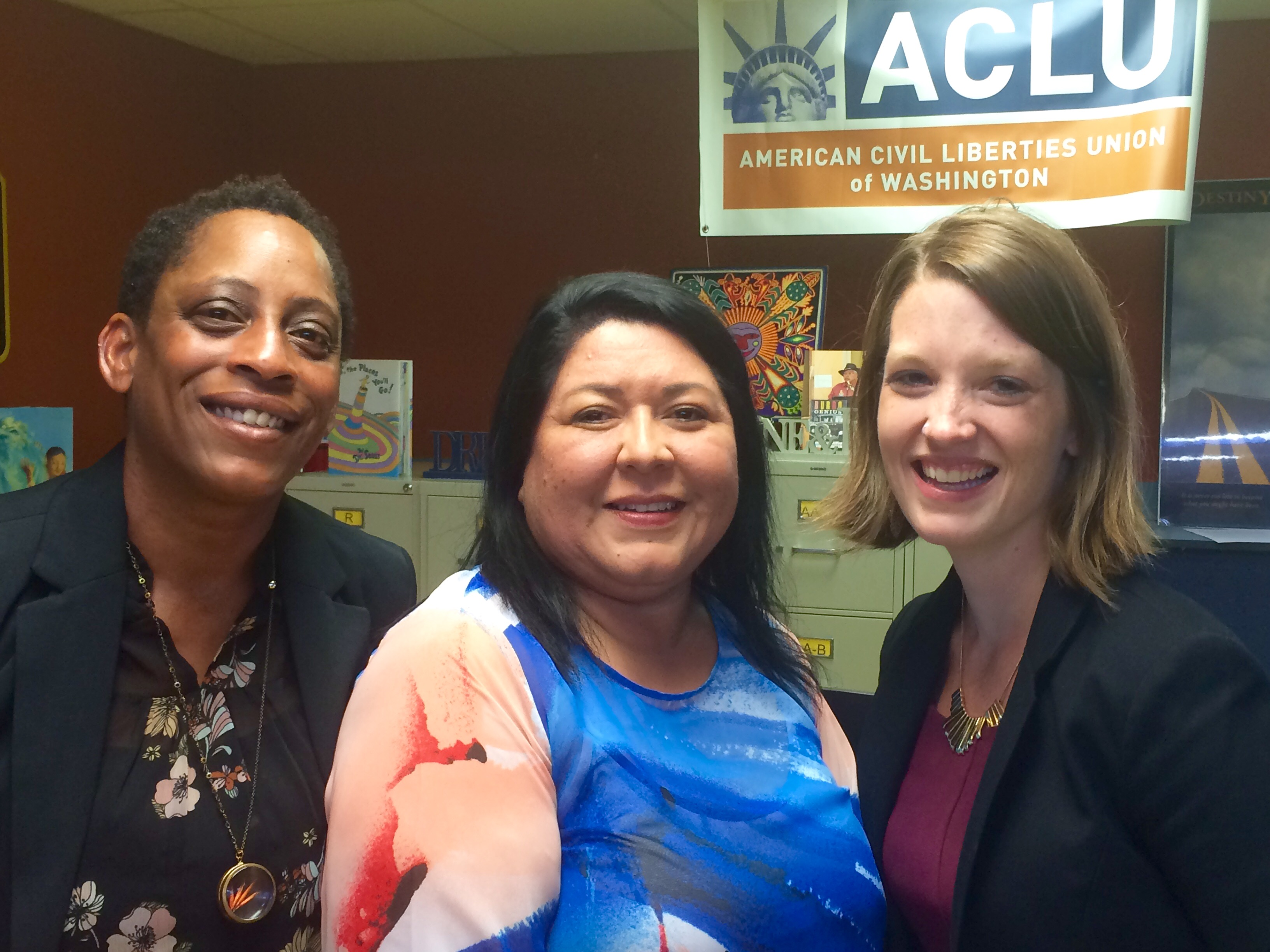 Bertha Glatt and ACLU-WA Attorneys