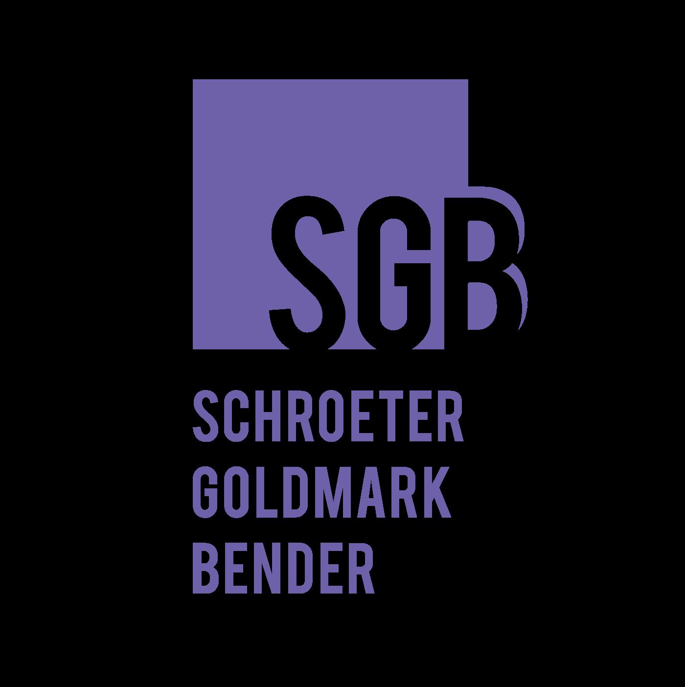 Schroeter Goldmark Bender