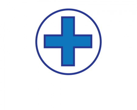 Hospital cross logo