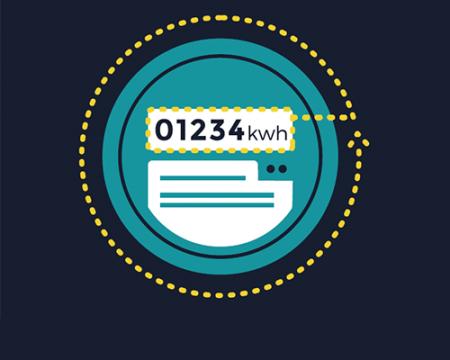 Illustration of a smart meter