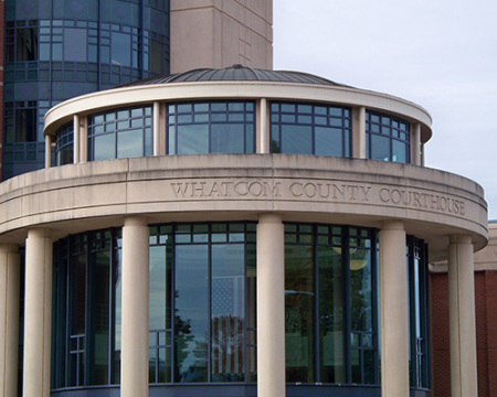 Photo of the Whatcom County Courthouse and Jail