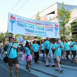 Seattle Trans Pride Parade 2013