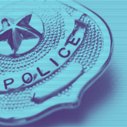 image of police badge