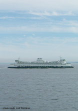 Photo of a Washington State Ferry