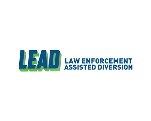 Logo for LEAD, a law enforcement assisted diversion program