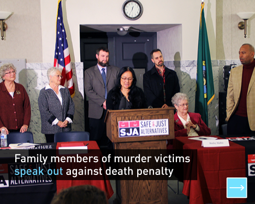Family members of murder victims speak out against death penalty