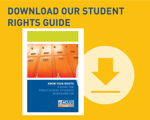 Download our student rights guide
