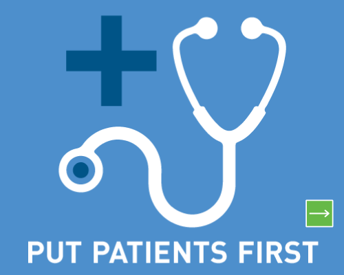 Put patients first