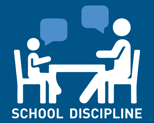 Logo for school discipline project