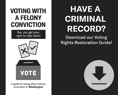 Have a criminal record? Download our voting rights restoration guide!