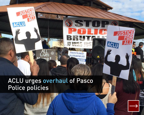 ACLU urges overhaul of Pasco Police policies