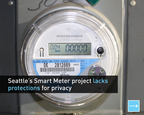 Seattle's smart meter project lacks protections for privacy
