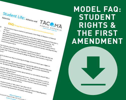 Model FAQ: Student Rights and the First Amendment