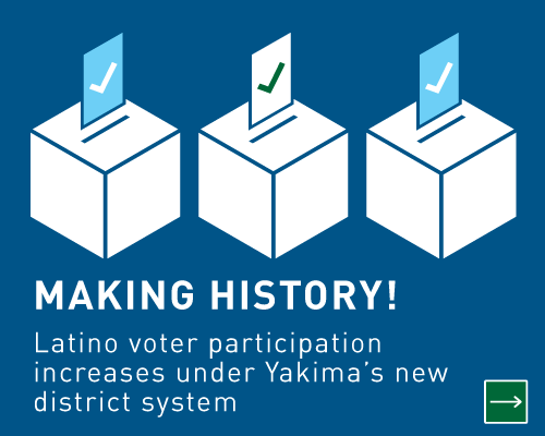 Making History! Latino voter participation increases under Yakima's new district system