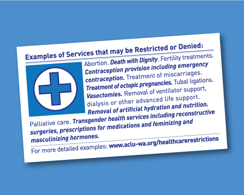 Examples of services that may be restricted or denied