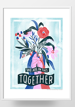 Preview image of the We are in this together poster