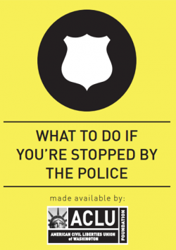 Cover of What to Do If You're Stopped By the Police Wallet Card