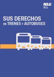 Sus derechos en trenes y autobuses