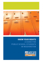 Cover of student rights guide