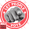 Let People Vote ACLU People Power Campaign Logo