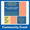 Rally Against Trump's Abuse of Power Community Event