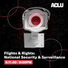 flights and rights event announcement graphic - national security and surveillance